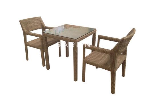 Sit in ชุดโต๊ะเก้าอี้หวายเทียม