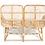 Thumbnail: Rattan Love Seat เก้าอี้โซฟาหวายแท้