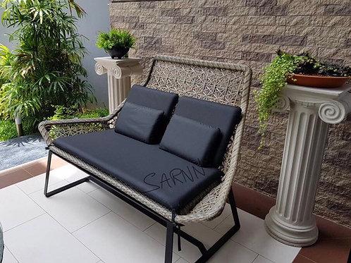 Star Outdoor Bench เก้าอี้หวายเทียม