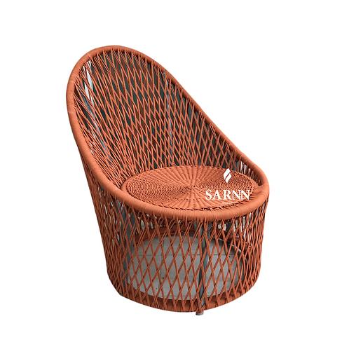 Cross rope high chair เก้าอี้สานเชือก