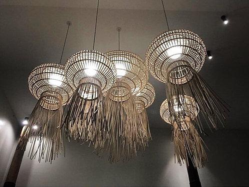 Jellyfish โคมไฟหวายแมงกระพรุน