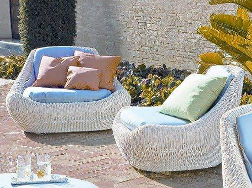Outdoor White Chair
