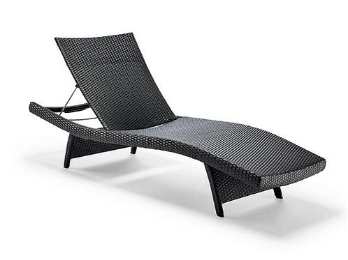 Balencia Black Chaises Lounge