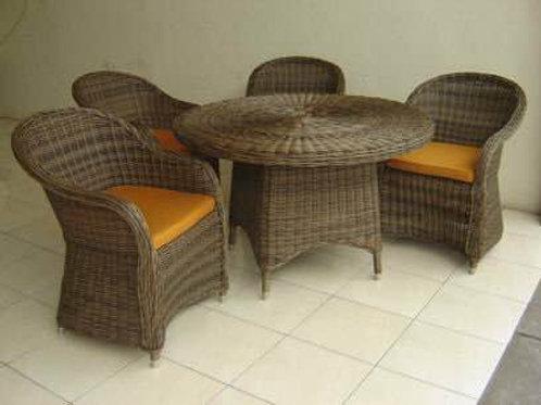 Wechair-ชุดโต๊ะอาหารหวายเทียม เก้าอี้หวายเทียม