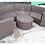 Thumbnail: Round A Brown Sofa Set ชุดโซฟาหวายเทียม
