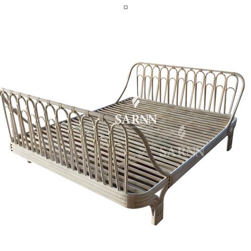 Isabell Bed เตียงนอนหวายแท้