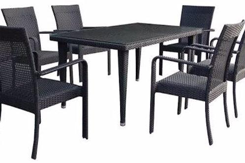 ชุดโต๊ะเก้าอี้ดินเนอร์สนาม