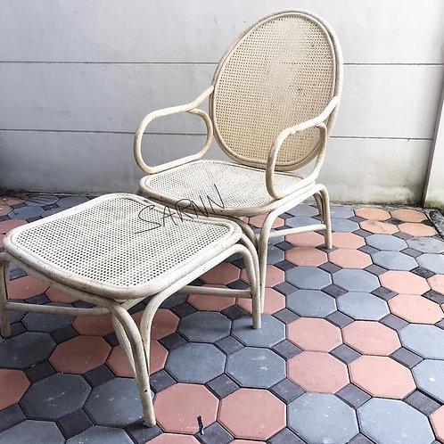 Nordic เก้าอี้สตูลหวายแท้