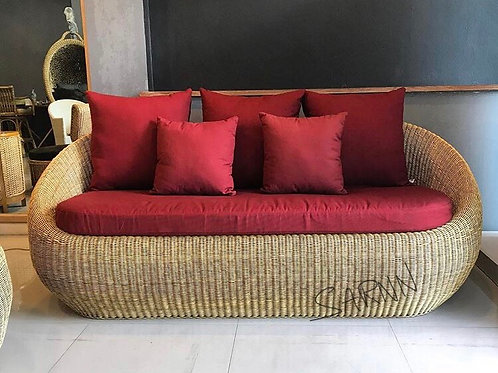Apollo Sofa  Natural โซฟาหวายแท้