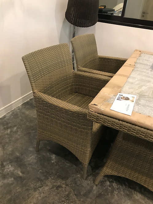 Dining chair เก้าอี้หวายเทียม
