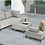 Thumbnail: FLEXI Sofa โซฟาผ้า Outdoor