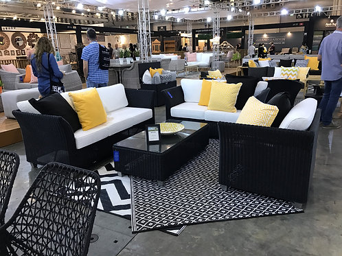 Premium Lounge ชุดโซฟาหวายเทียม