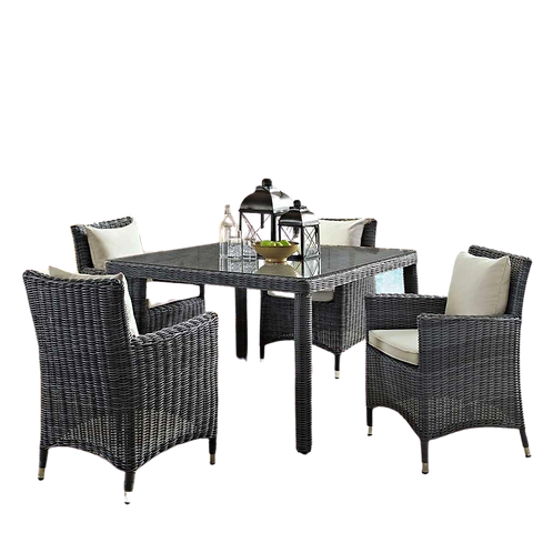 Modway Summon 47 Square Outdoor Patio Dining