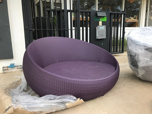 Maprang Outdoor Round Sofaโซฟาหวายเทียม