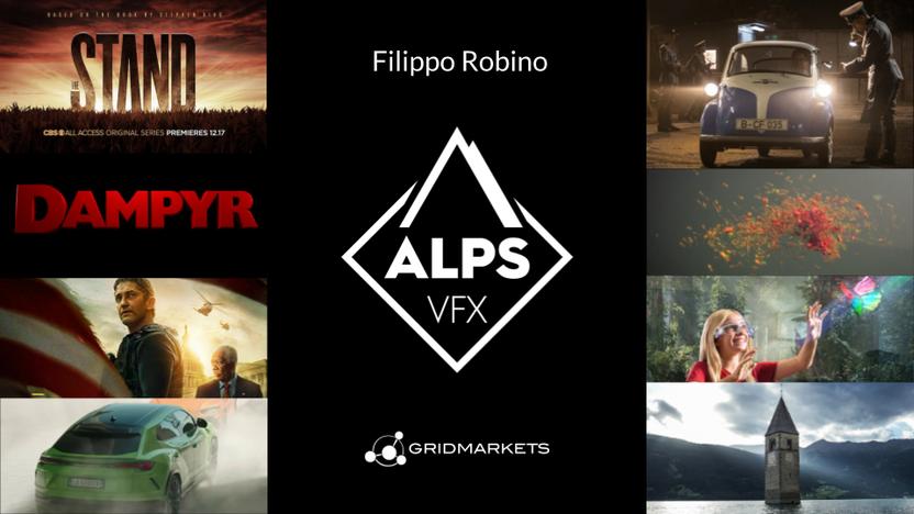 2021July08 - Italian studio Alps VFX: 5x growth in 2 years. Click to listen co-founder Filippo Robino's story.