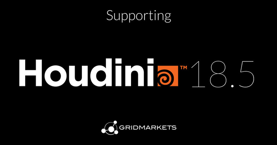 2020Oct29: GridMarkets is now supporting the latest release of Houdini 18.5 from SideFX