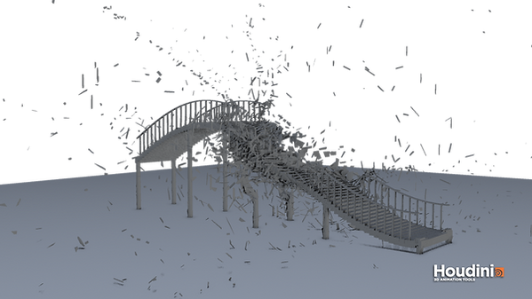 my first Houdini destruction attempts