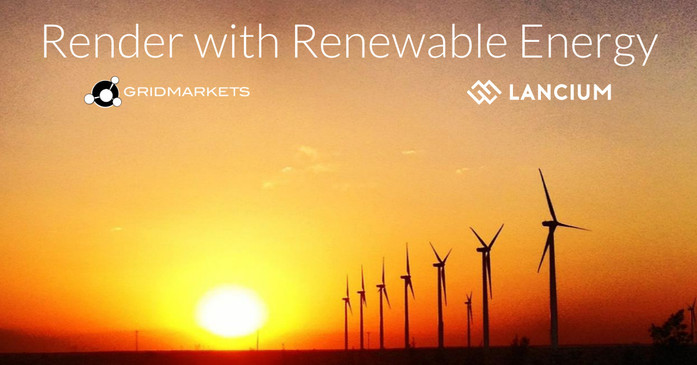 2020Sep03: Render with green energy - announcing our partnership with Lancium.