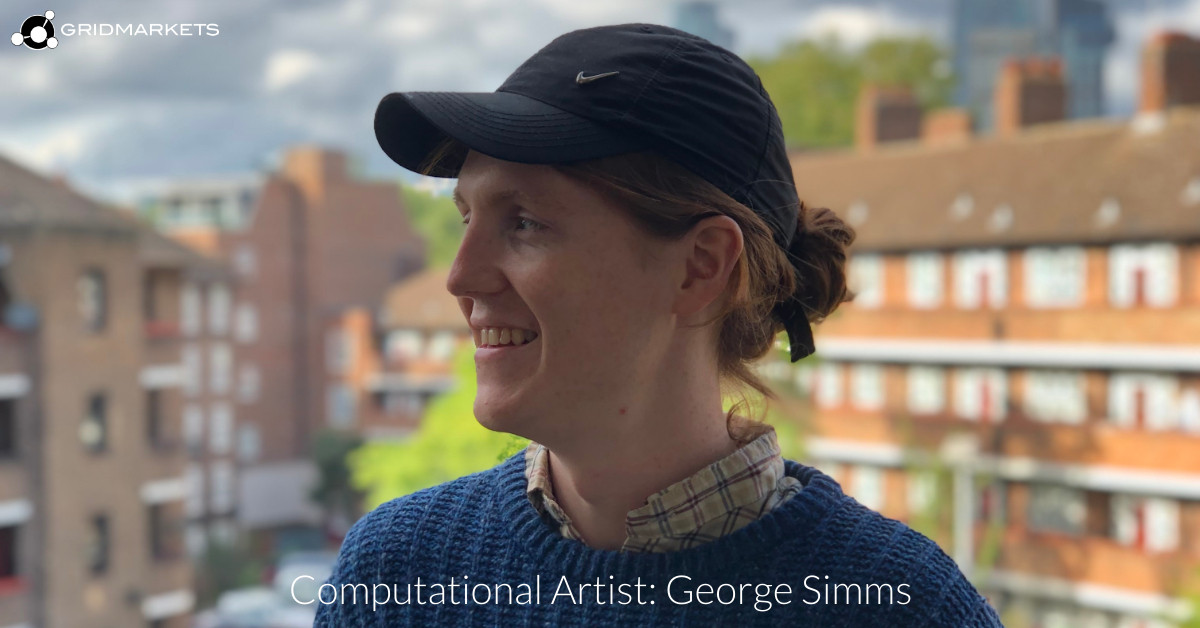 2020Aug21: Computational Artist George Simms uses machine learning to create generative render tools.