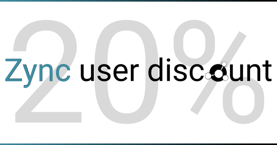 2021Mar11: Zync users - receive a 20% discount during your first GridMarkets month.