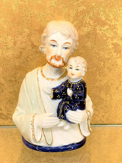 Lord Jesus with Baby Christian Statue