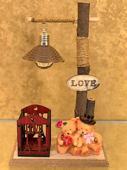 Cute Love Teddy Showpiece