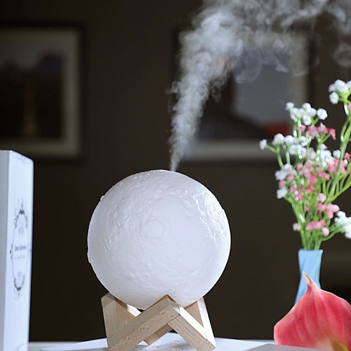 Popular Moon Lamp with Humidifier (2 in 1)