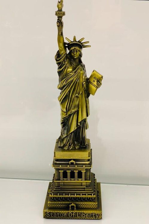 Newyork City's Pride-The Statue of Liberty in Gold Colour