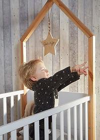 Lit cabane Maiso de bébé évolutif junior design
