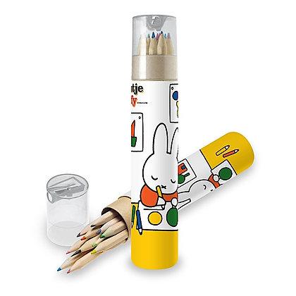 Coffret de Crayons de couleur et taille crayon Miffy