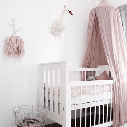 Ciel De Lit Féerique Différents Coloris - Lit cabane rose