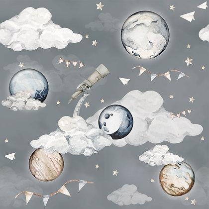 Papier peint Planètes magiques