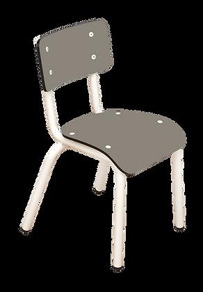 Chaise d'écolier maternelle Little Suzie Gris