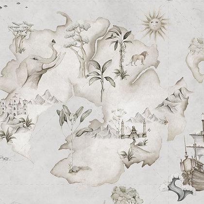 Papier peint Conquête et aventures