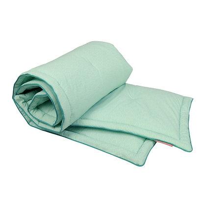 Edredon couverture moelleuse Ecailles Mint