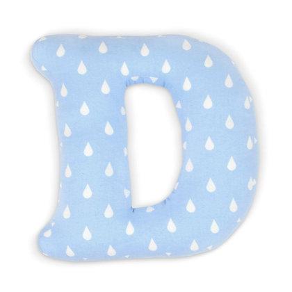 D : Lettre géante en Coton