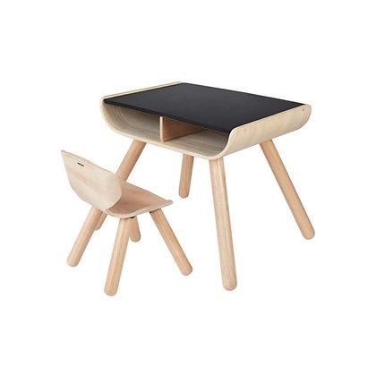 Ensemble bureau et chaise Planwood durable