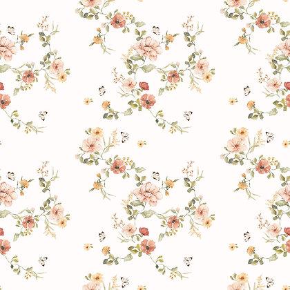 Papier peint Floral Vintage