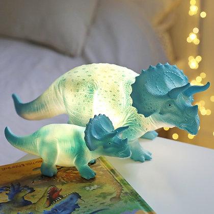 Belle lampe veilleuse Tricératops