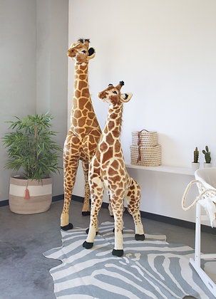Girafe géante de chambre 135cm