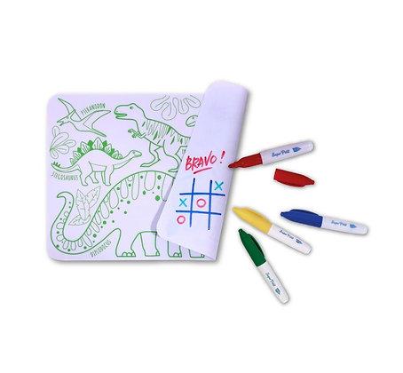 Mini Playmat coloriage infini Dino
