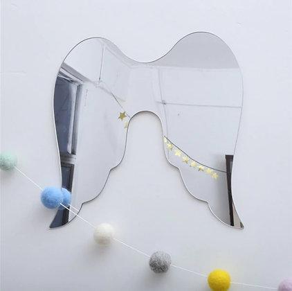 Miroir Plexy Grande Ailes d'Ange