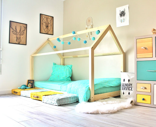 Lit Maison Montessori 90x190 EXPRESS