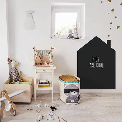 Grand stiker Tableau noir Maison