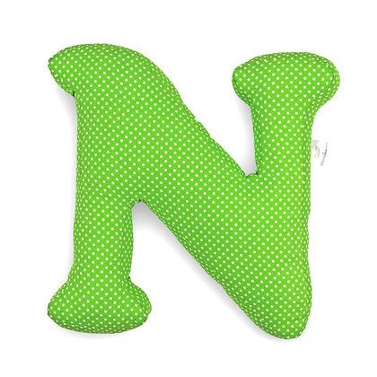 N : Lettre géante en Coton