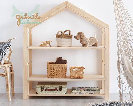 Etagère Montessori évolutive Cabane
