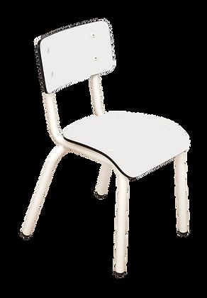 Chaise d'écolier maternelle Little Suzie Blanc