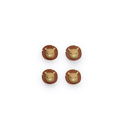 Lot de 4 magnet Hakuna