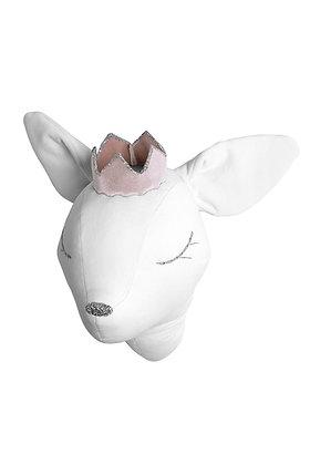 Éos la jolie biche couronnée blanche