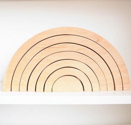Arc en Ciel Arabesque Montessori Nouvelle Version Naturel